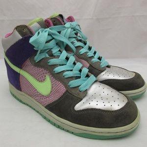 Nike Dunk 6.0 Hi-Top Shoes Women's Size 10